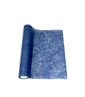 Chemin de table intissé Brillant Bleu Foncé