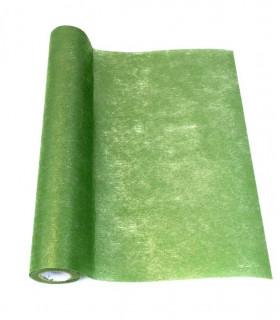 Chemin de table intissé Brillant Vert Menthe