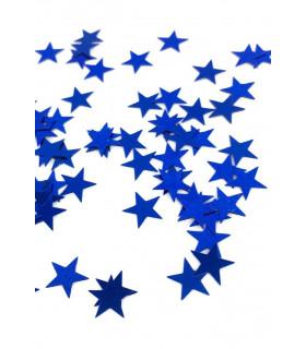 Confettis de table Etoile 10mm Bleu Électrique
