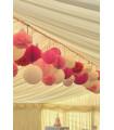 Marque Place table de fête motif floral Parme 20 pcs