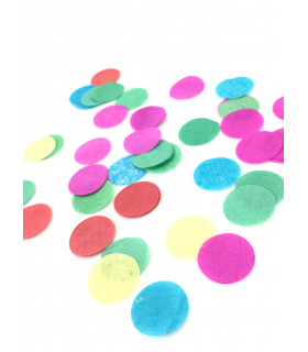 Confettis deco, animation 21mm Multicolore