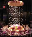 Fleurs artificielles pivoine réaliste 12 cm Violet