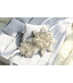 coiffe mariée bandeau cheveux strass, fleurs Blanche