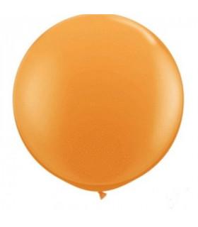 Ballon Géant rond deco salle Orange