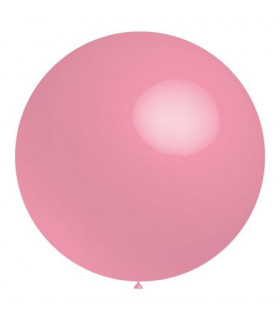 Ballon Géant rond deco salle Rose Fluo