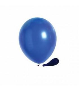 Ballon opaque sachet de 100 deco salle Bleu