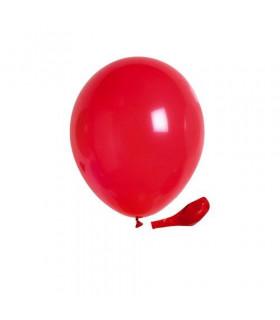 Ballon opaque sachet de 100 deco salle Rouge