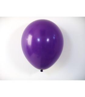 Ballon opaque sachet de 100 deco salle Violet
