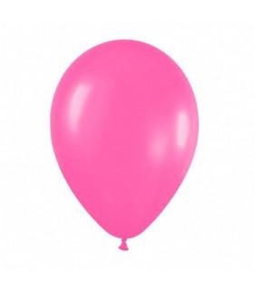 Ballon opaque sachet de 50 deco salle Rose