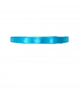 Ruban satin 6mm 23m Bleu