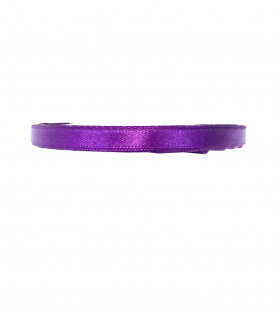 Ruban satin 6mm 23m Violet