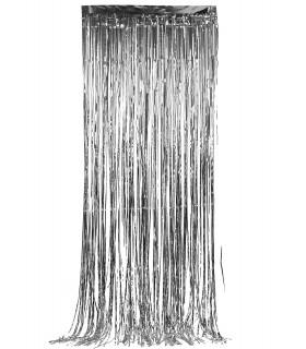 Rideau scintillant 92 cm x 245 cm Argent