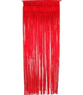 Rideau scintillant 92 cm x 245 cm Rouge