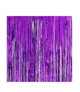 Rideau scintillant 92 cm x 245 cm Violet
