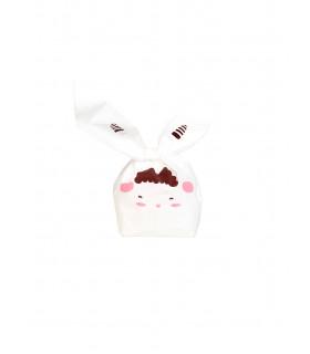 Contenant dragées sachet bonbon petit mouton Blanc 10 pcs