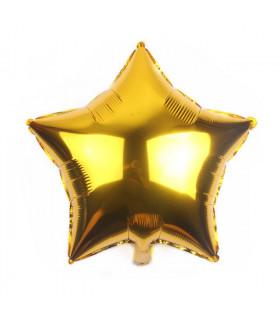 Ballon Géant étoile 45cm anniversaire Doré