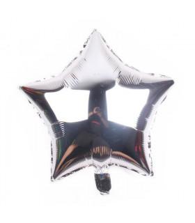 Ballon Géant étoile 45cm anniversaire Argenté