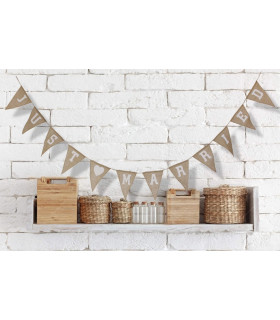 Guirlande en jute JUST MARRIED 3M