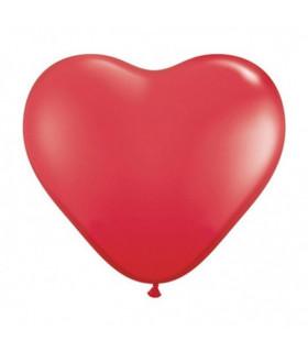 Ballon coeur Rouge 100pcs