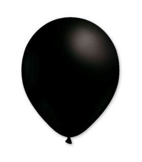 Ballon latex Noir 28cm 100pcs