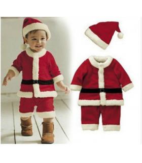 Costume père-noel enfant