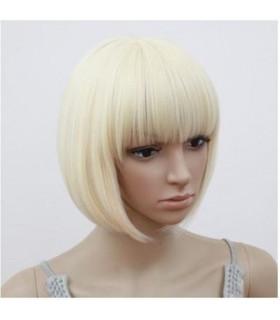 Perruque de deguisement femme carre Blond