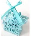 Bonbonnières Flocon de neige Bleu Ciel 10pcs