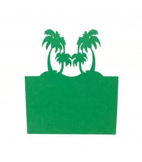 Marque Place theme voyage ile palmier 20pcs