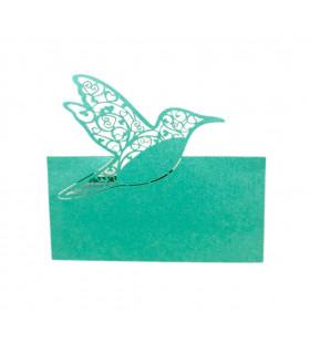 Marque Place table de fête colombe Turquoise 20 pcs