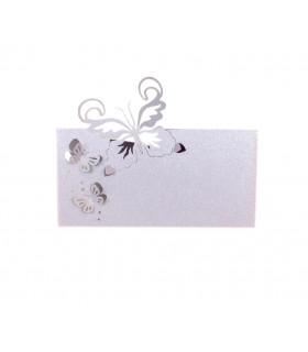 Marque Place table modèle papillon relief Parme 20 pcs