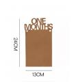 Guirlande Kraft 12 Months 3M