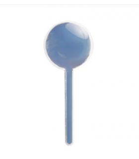 12 Contenants dragées en forme sucette bleu