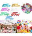 Confettis Happy Birthday multicolor