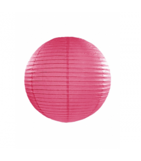 Lanterne en papier chinois boule deco Fuchsia