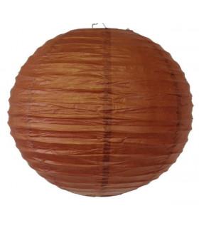 Lanterne en papier chinois boule deco chocolat