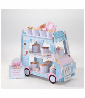 Présentoir gateaux candybar petit camion