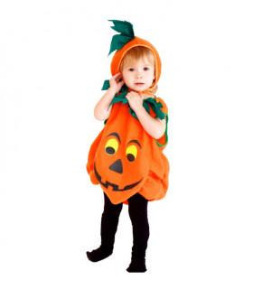 Déguisement enfant citrouille Halloween Orange