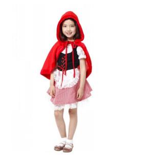 Déguisement enfant Le Petit Chaperon Rouge Fille Rouge