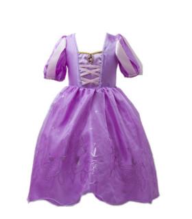 Déguisement enfant Princesse Fille Violet