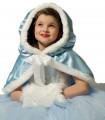 Déguisement enfant Princesse Hiver Fille Bleu Ciel