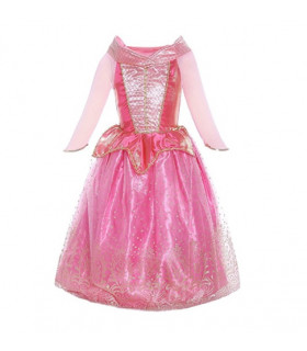 Déguisement enfant Princesse avec manche Fille Rose