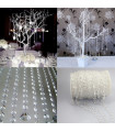 Guirlande de perle décoration Rouleau de 30 m Translucide