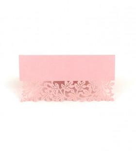 Marque Place table de fête motif floral Rose 20 pcs
