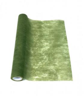 Chemin de table intissé eco Vert Militaire
